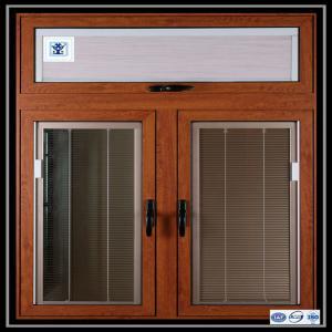 Buy Aluminium Sliding Window Aluminium Window Extrusions With Mosquito Screen / Vertical Aluminum Louvers at wholesale prices