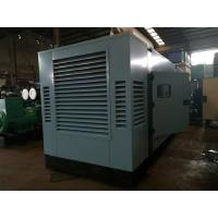Water Cooled Silent Electric Generator , Emergency Diesel Generator With Cummins Engine