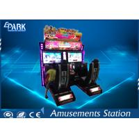 Quality EPARK hot selling 32 inch screen arcade car simulator outrun kids Coin Operated racing gaming machine for sale