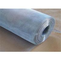 Quality Residential Security Mesh Galvanized Window Screen With Low Carbon Steel Wire for sale