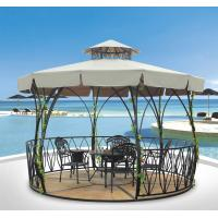Buy cheap China outdoor gazebo garden tent metal pavilion flower garden Pavilion 1117 from wholesalers