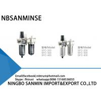 China Professional SFC FRL Pneumatic Industrial Air Filter Regulator And Lubricator on sale