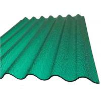 China PC Corrugated Plastic Greenhouse Panels Opaque Corrugated Roofing Sheets for Building   on sale