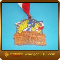 Quality csutom design zinc alloy award medal for sale