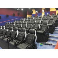 Quality Unique 5D Cinema Equipment Electric Or Pneumatic System / Motion Theater Chair for sale