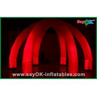 Quality Advertising Spiders Tent Inflatable Lighting Decoration With LED for sale