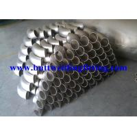 Quality L / SR Stainless Steel Tubing Elbows Inconel 625 180 Degree Elbow for sale