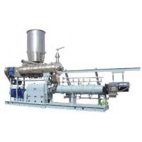 Quality 1000kg/h twin screw extruder Jordan  floating fish feed machine price for sale