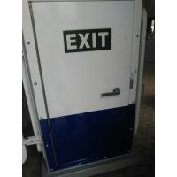 Quality White Coating A60 Weathertight Marine Access Doors Single Leaf Steel Exit Door for sale