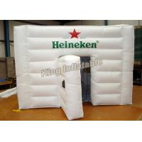 China PVC Tarpaulin White Inflatable Event Tent With Logo Printing SGS on sale