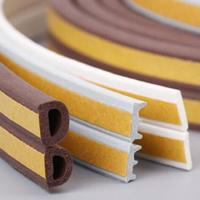 Quality New product oem abrasion resistant soft rubber sponge strip/silicone striping/customize silicone seal for sale