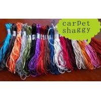 China Polyester Shaggy Carpet Yarn on sale