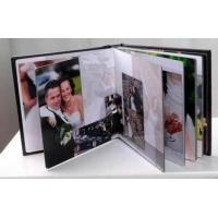 Quality Modern 8x8 inch Gloss Lamination / Right Inside Photo Album Refill Pages for sale