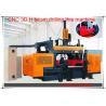 SWZ series CNC 3D beams drilling line machine for sale