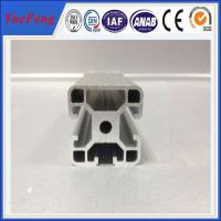Quality 3D printer parts T slot aluminium extruded sections aluminium frames profile 2020,4040 for sale