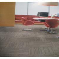 China Colored Modern Home Carpet 50x50cm Loop Pile Pattern Anti - Slip Feature on sale