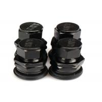 Buy Black Chrome Valve Stem Caps , Car Tyre Valve Caps For Electric Vehicle at wholesale prices
