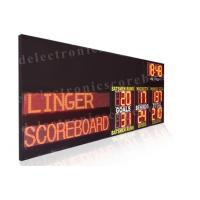 Quality Multi Functions Led Electronic Scoreboard Outdoor Indoor Type 110V ~ 250V for sale