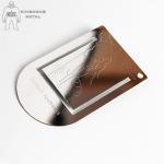 Quality Color Printed  Engraved Metal Bookmarks For Men  Promotional  Gift Logo Engraved for sale