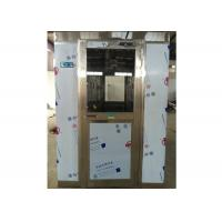 Quality Auto Far Infrared Sensor Stainless Steel Air Shower Room For Seafood Workshop for sale