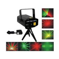 Quality Mini Red Green Stage Laser Lighting 8 Patterns 80mW With Double Motors / Rotating for sale
