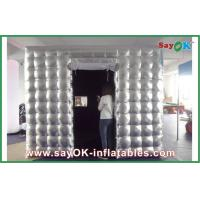 Quality Beautiful Inflatable Wall Panel Mobile Square Blow Up Photo Booth for sale