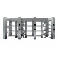 Quality Remote Control Revolving Full Height Turnstile Barrier With Three Door for sale