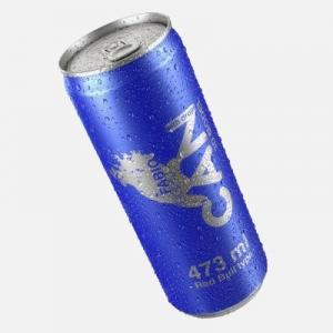 Quality Spray Aluminum Beverage Bottles DWI Screw Crown Cap 28/38 500ml Easy Open for sale