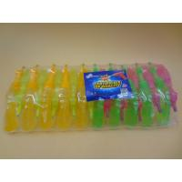 Quality Plastic Gum Novelty Healthier Liquid Sour Candy For Little Girls / Boys for sale