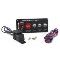 Quality 30A Universal Racing Switch Panel For Car , Toggle Starter Switch for sale
