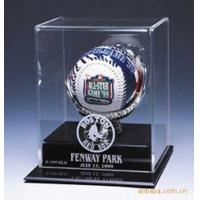 Buy SGS Baseball Acrylic Display Stand Case / Sport Acrylic Advertising Display at wholesale prices