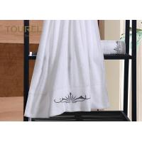 Quality 5 Star Hotel Towels White Color Bath Luxury Hotel Collection Towels for sale