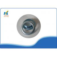 Buy Iron Metal Eyelet Grommet For Industrial Eyelet Machine , Silver Color Eyelets For Fabric at wholesale prices