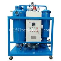 TY Turbine Oil Filtration Plant,Lube Oil drying,Vacuum Lubricant Oil Recycling Machine,vacuum oil purifier,blue color for sale