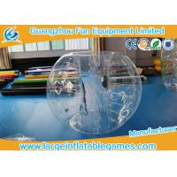 Quality 1.8M TPU Inflatable Bumper Ball , Body Zorb Ball With 3 Years Warranty for sale