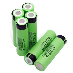 Quality Deep Cycle 12.58wh Panasonic 18650 Battery 3400mAh for sale