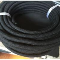 China Black Outer Cotton Outer Braided Diesel Fuel Oil Transfer Hose on sale