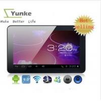 China 9 inch AllWinner A13 Android 4.0 Tablets 512M 8GB Capacitive Touch Screen Webcam Tablet PC on sale