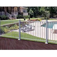 China Pre-Assembled Aluminum Deck Railing ISO9001 D6001 manufacturer on sale