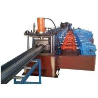 Quality 3 Waves Highway Guardrail Roll Forming Machine Use Universal Coupling Export to Poland European Countries for sale