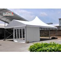 Quality Commercial High Peak Tents Round Marquee Clear Tents For Weddings for sale