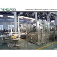 Quality Beer Washing Filling Capping 3-in-1 Carbonated Glass Bottle Filling Machine for sale