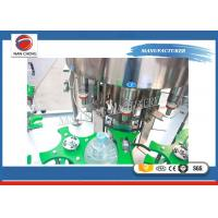 Buy 3 In 1 Purified Drinking / Mineral Water Auto Water Filling Machine Washing at wholesale prices