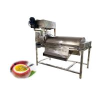 Quality industrial automatic passion fruit pulp centrifugal seperates processing machine for sale