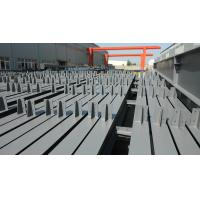 JIS Steel H Beam , ASTM H Type Steel Beam with High Frequency Welded for sale
