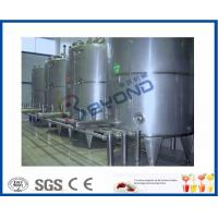 Quality Split Type Clean In Place System , Semi Automatic Control Cip Tank Cleaning for sale