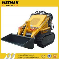 China hysoon hy380, mini track loader for sale, mini skid steer,small garden tractor loader back on sale
