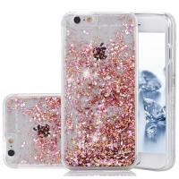 China Apple IPhone 7 Hard Cell Phone Cases Flowing Liquid Floating Glitter Diamond Sparkle on sale