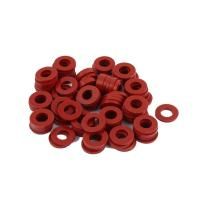 Quality Red Silicone Rubber Seal Ring Food Grade Weathering Processing For Glass Washer for sale