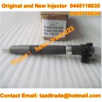 Quality BOSCH Original and new CR Injector 0445116035 /0445116034 /0 445 116 035/0986435369 Fit VW for sale